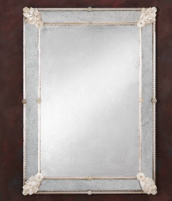 Framed Mirrors And Decorative Mirrors And Horizontal Mirrors Intended For Venetian Glass Mirrors (#5 of 15)