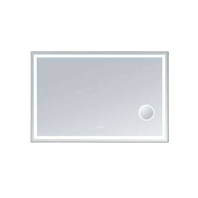 Frameless – Bathroom Mirrors – Bath – The Home Depot Pertaining To Square Frameless Mirrors (#11 of 30)
