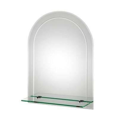 Frameless – Bathroom Mirrors – Bath – The Home Depot Within Beveled Edge Oval Mirrors (#13 of 20)