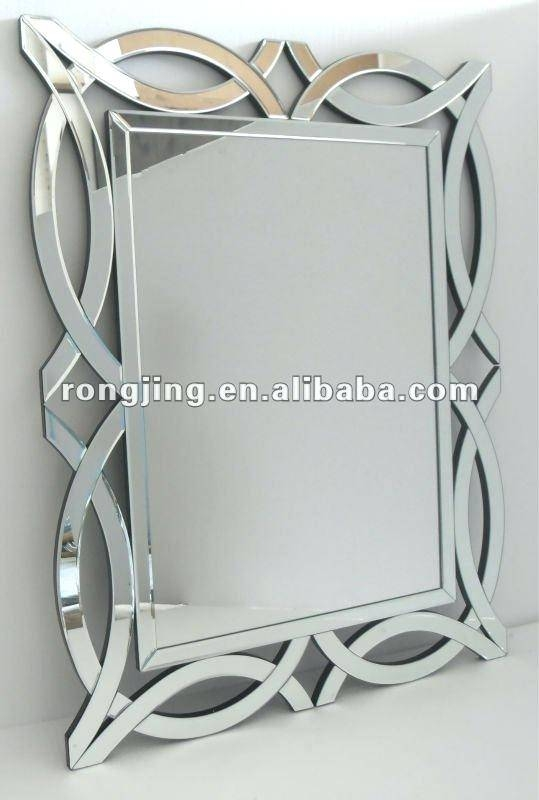 Frameless Fancy Wall Mirrorfancy Mirror Designs Round Mirrors With Fancy Wall Mirrors (#15 of 20)