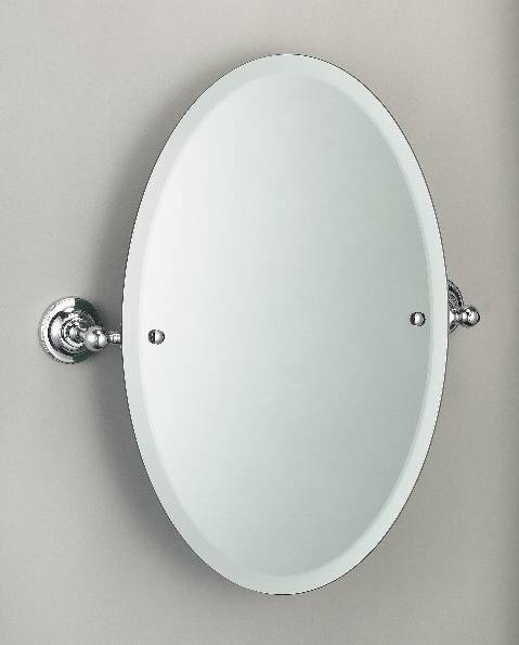 Frameless Oval Bathroom Mirrors And White Oval Bathroom Mirrors Intended For White Oval Bathroom Mirrors (#12 of 20)