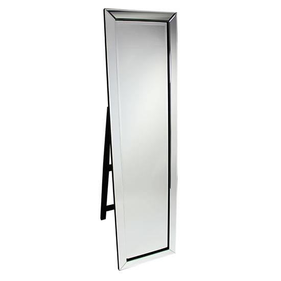 Free Standing Cheval Mirror With Led Lights 17471 Furniture Inside Black Free Standing Mirrors (#14 of 30)