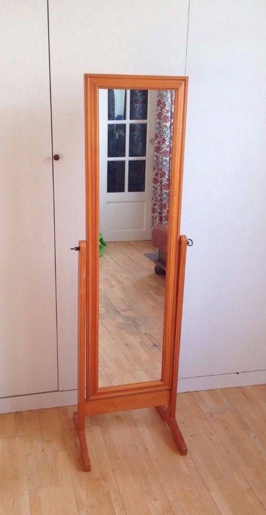 Free Standing Full Length Cheval Mirror | In Camden, London | Gumtree In Full Length Cheval Mirrors (View 5 of 20)