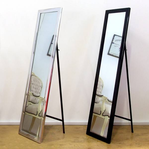 Free Standing Full Length Mirror: Metal Frame Full Length Standing Intended For Full Length Stand Alone Mirrors (#18 of 30)