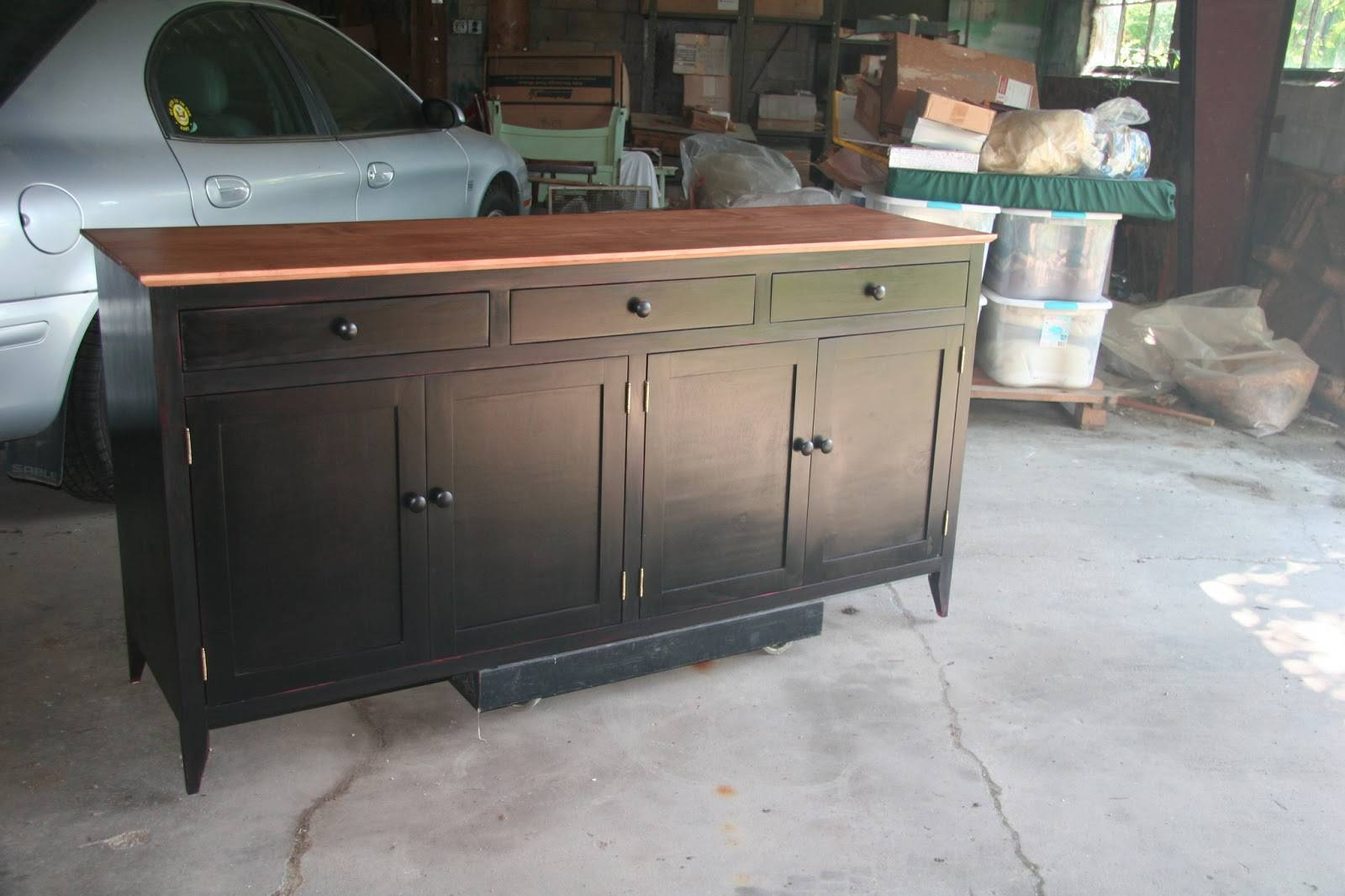 Popular Photo of Free Standing Kitchen Sideboard