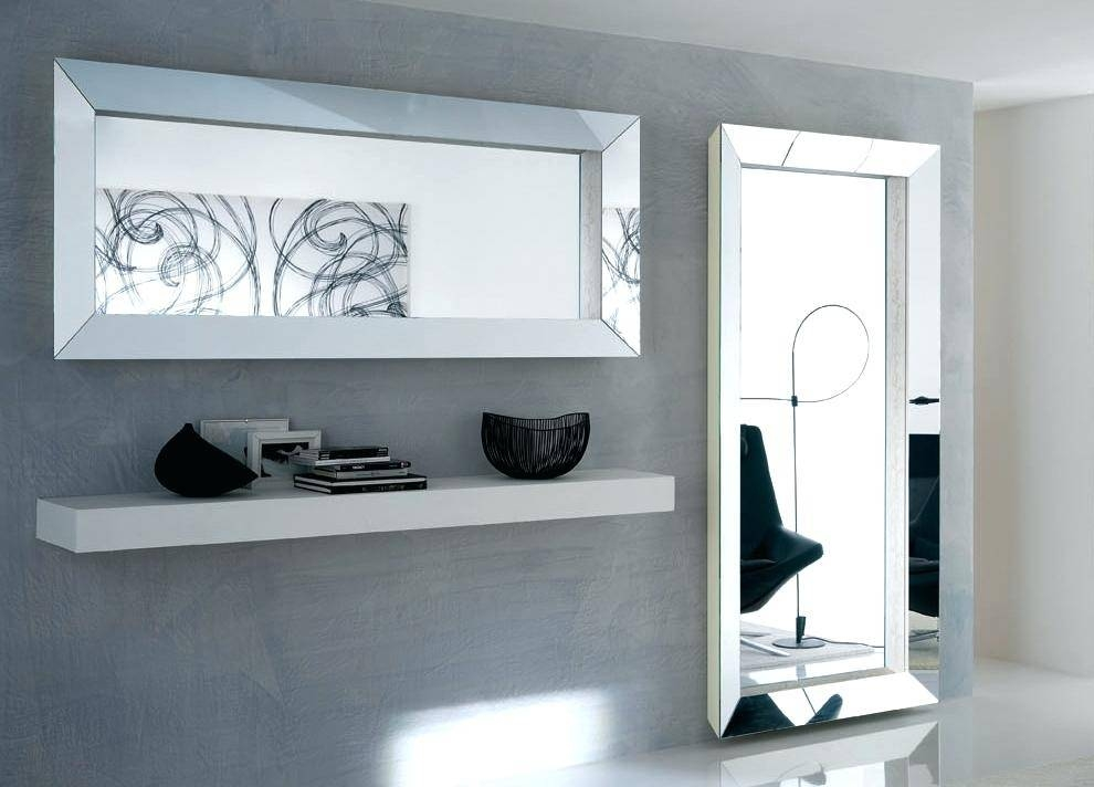 Free Standing Large Full Length Mirrorlarge Mirror No Frame Intended For Full Length Large Mirrors (#7 of 20)