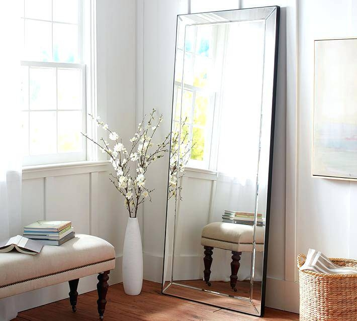 Free Standing Mirror Jewelry Armoirelarge Ornate Floor Mirrors Big Throughout Large Free Standing Mirrors (#10 of 20)