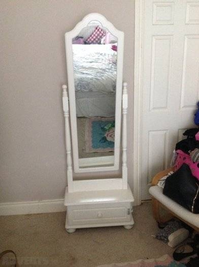 Popular Photo of Free Standing Mirrors With Drawer