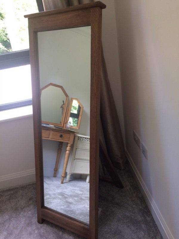Free Standing Oak Mirror | In Aberdeen | Gumtree Regarding Free Standing Oak Mirrors (#8 of 15)