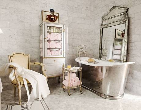 French Bathroom Style – French Bathroom Decor Inside Hotel Inspired Mirrors (#11 of 15)
