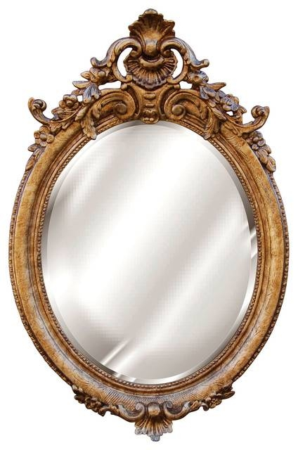 French Beveled Mirror – Victorian – Wall Mirrors  Cpi With Regard To Victorian Mirrors (#18 of 30)