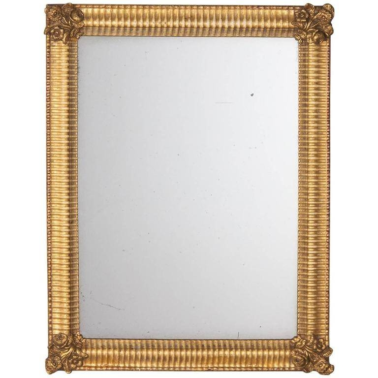 French Empire Period Gilded Mirror, Early 1800S For Sale At 1Stdibs With Regard To Gilded Mirrors (#9 of 20)