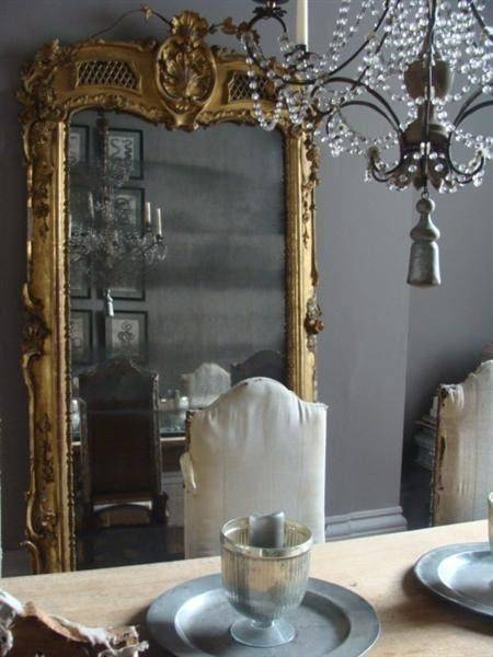 French Floor Mirror – French – Entrance/foyer – Angie Gren Interiors In French Floor Mirrors (#16 of 20)