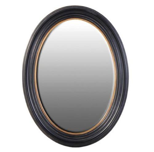 French Inspired Mirrors, Metal Round Wall Mirror, Free Standing Regarding Large Black Round Mirrors (View 19 of 30)