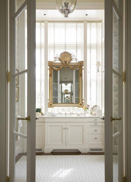 French Master Bathrooms Design Ideas Regarding French Bathroom Mirrors (#25 of 30)