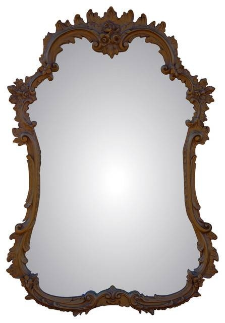 French Mirror – Victorian – Wall Mirrors  Cpi With Old Style Mirrors (#20 of 30)