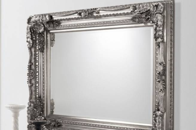 French Style Mirrors | Crown French Furniture Inside French Style Wall Mirrors (#17 of 30)