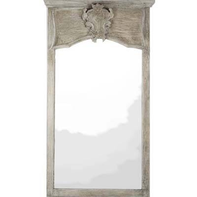 French Vintage Carved Wall Mirror Intended For Vintage Wall Mirrors (#7 of 20)