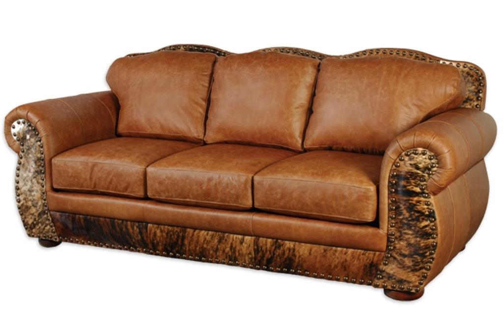 Full Grain Leather Sofa Curved New Lighting With Regard To Full Grain Leather Sofas (View 2 of 15)