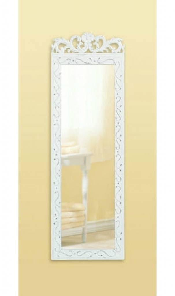 Full Length Decorative Wall Mirrors Mirrors Grand Silver Full Inside Shabby Chic Long Mirrors (#18 of 30)