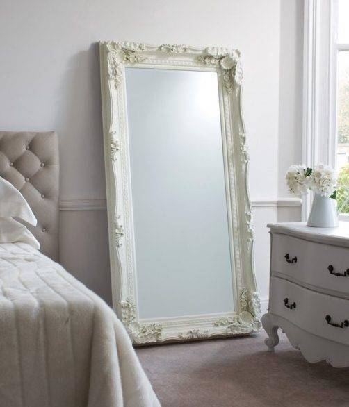 Full Length Decorative Wall Mirrors Stunning Mirror 14 Pertaining To Ornate Full Length Mirrors (#10 of 20)