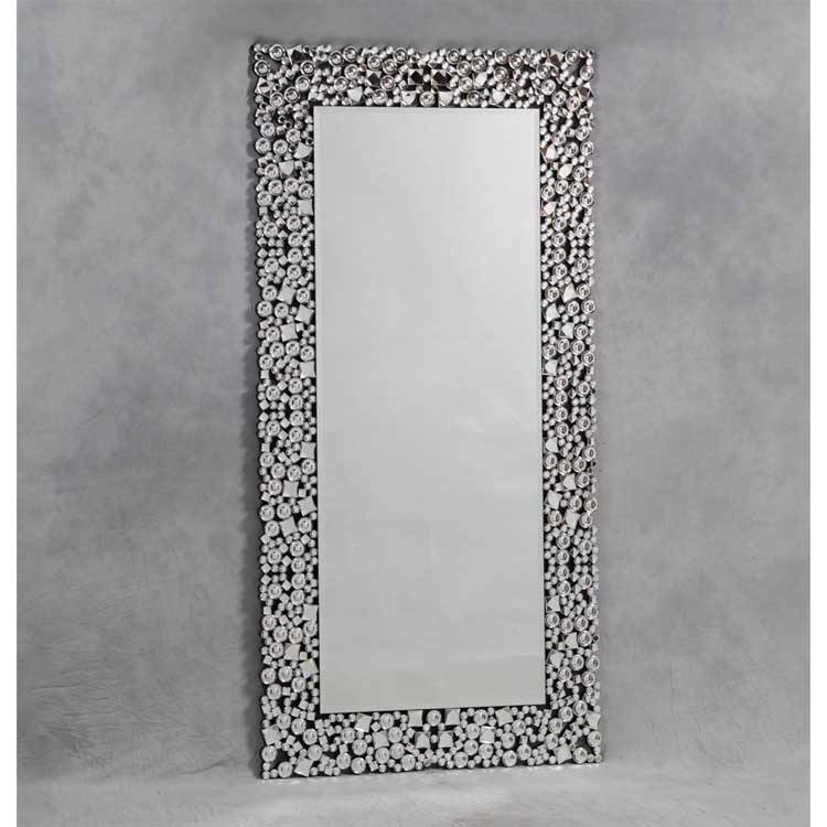 Full Length Jewel Mosaic Mirror 180 X 90Cm Full Length Jewel For Glitzy Mirrors (#5 of 20)