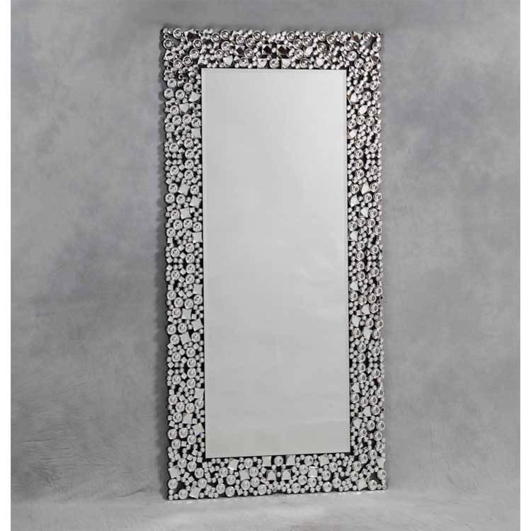 Full Length Jewel Mosaic Mirror 180 X 90Cm Full Length Jewel For Glitzy Mirrors (View 7 of 20)