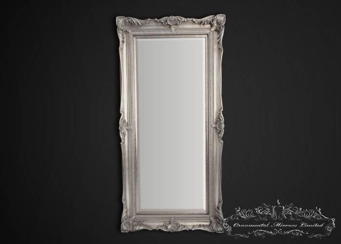 Full Length Mirror For Full Length Silver Mirrors (#8 of 20)