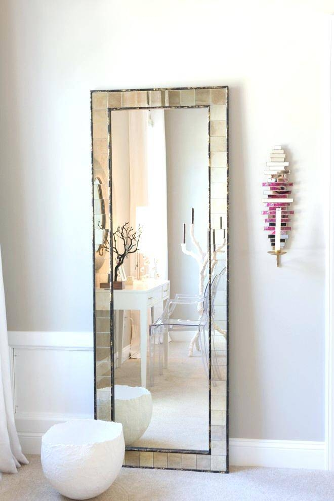 Full Length Mirror In Bedroom Transitional With Dresser Chest Throughout Dressing Table With Long Mirrors (View 8 of 15)