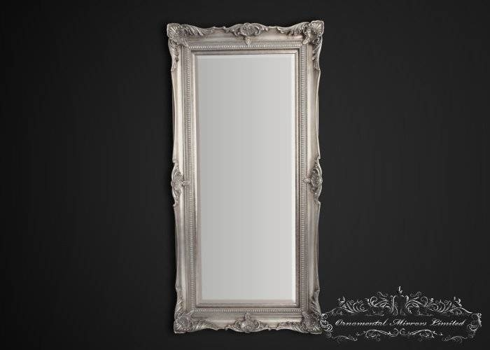 Full Length Mirror In Long Silver Mirrors (#19 of 30)