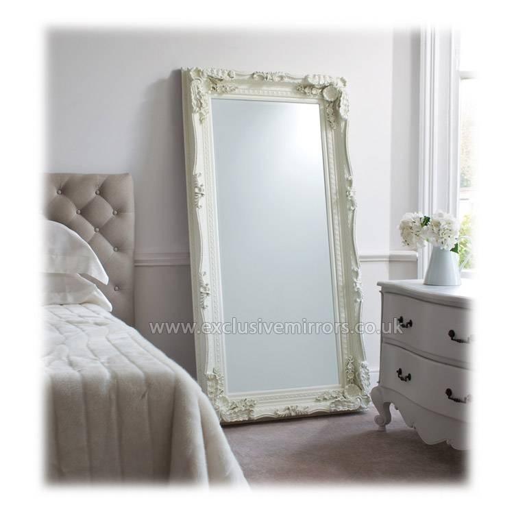 Full Length Mirror White | Inovodecor For Full Length Ornate Mirrors (#10 of 30)