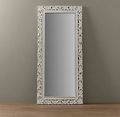 Full Length Mirrors Antique And Full Length Mirrors Asda – Floor Throughout Antique Floor Length Mirrors (#12 of 20)