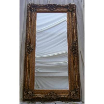 Full Length Ornate Gold Rococo Mirror – Ayers & Graces Online With Regard To Full Length Ornate Mirrors (#11 of 30)