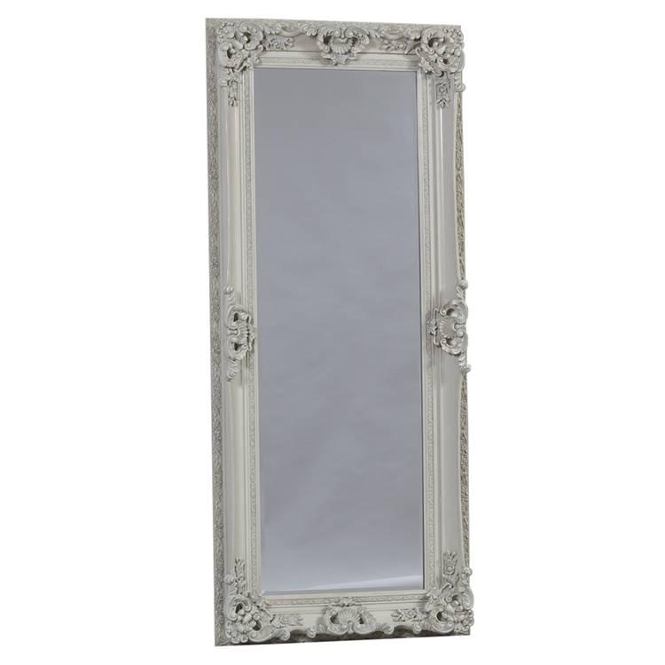 Full Length Ornate White Chelsea Mirror 195 X 85 Cm Chelsea Mirror Inside Ornate Full Length Mirrors (#13 of 20)