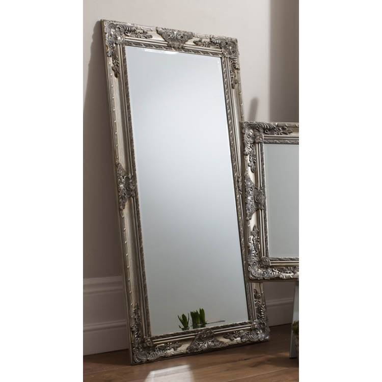 Popular Photo of Full Length Silver Mirrors