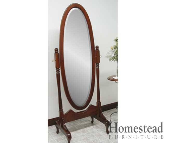 Functional Decorative Cheval Mirrors Throughout Vintage Free Standing Mirrors (#21 of 30)