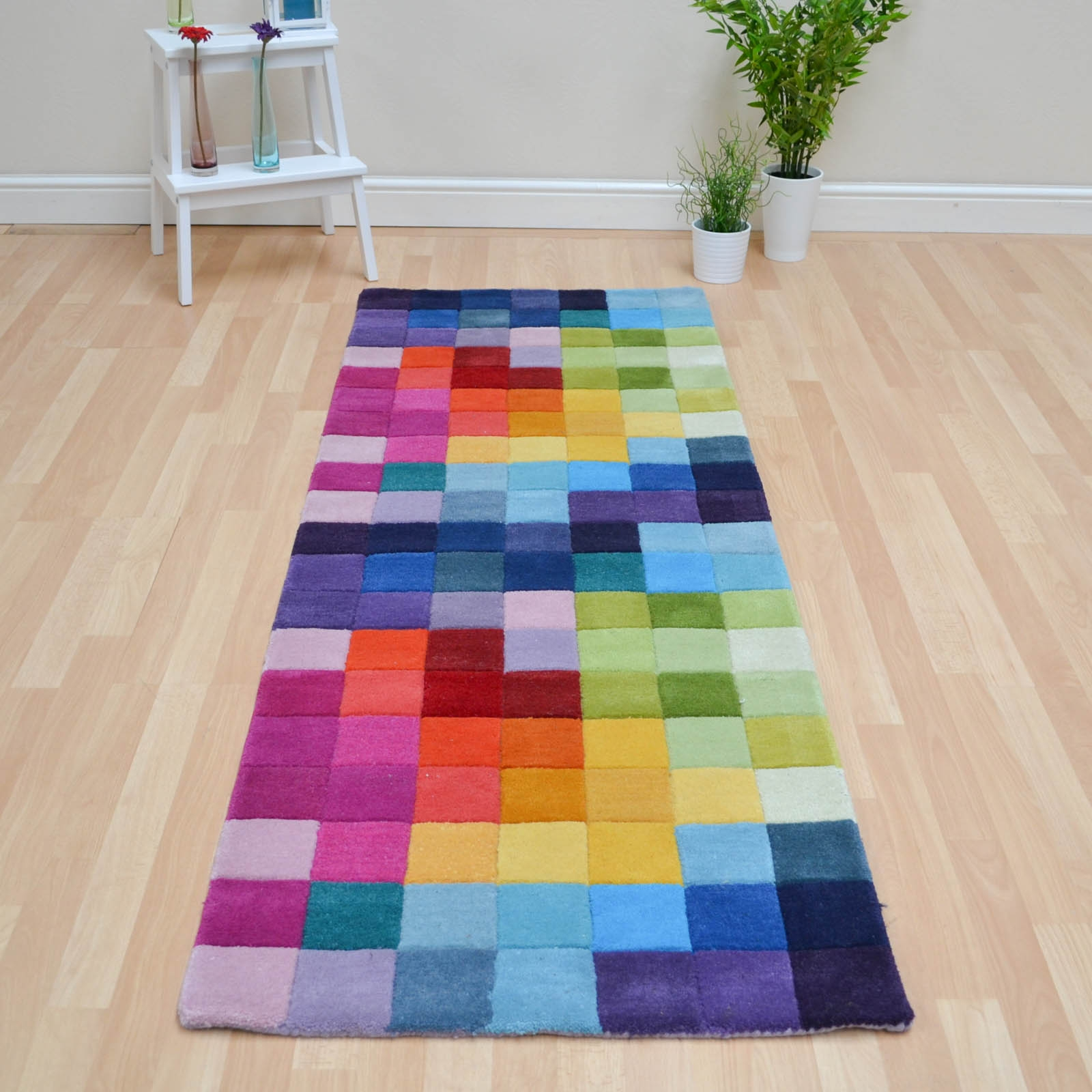 Funk Hallway Runners Multi Coloured Pure Wool Free Uk Delivery With Regard To Wool Runners Hallways (#14 of 20)