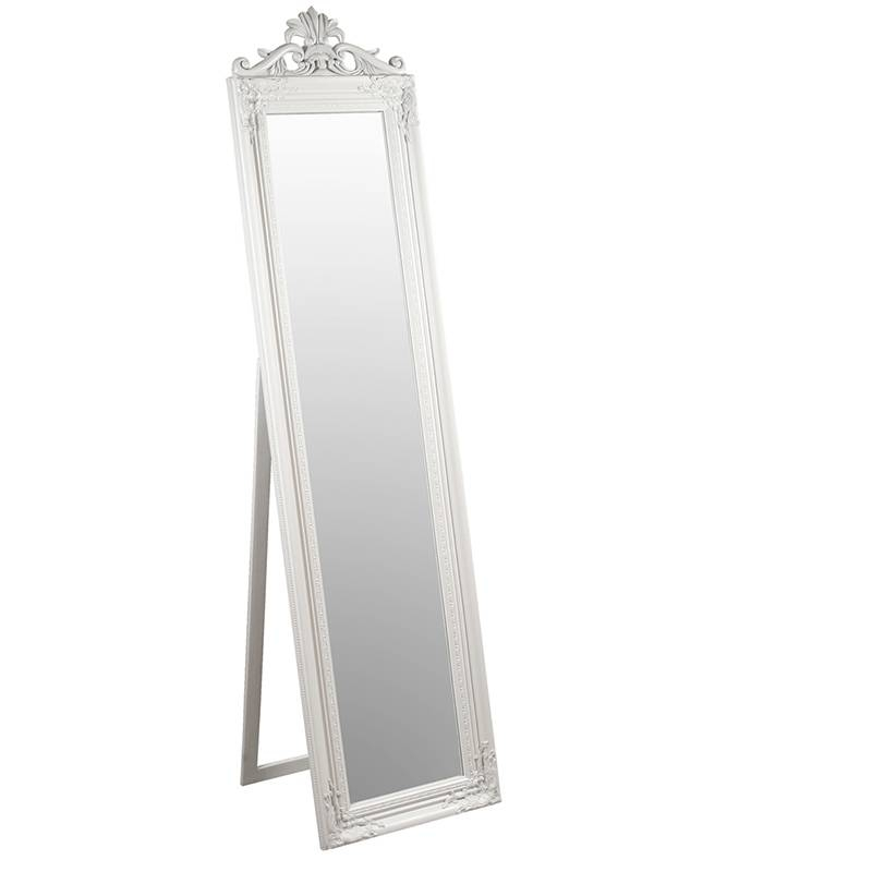 Furniture & Artchaisse Limited | Elizabeth Standing Mirror For Cream Standing Mirrors (#16 of 20)