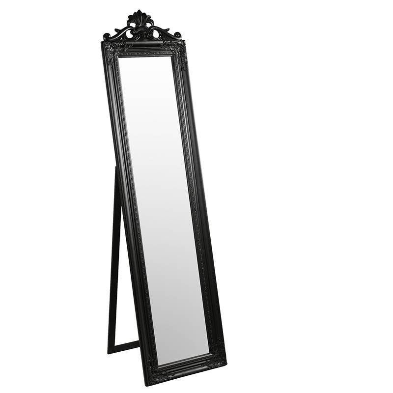 Furniture & Artchaisse Limited | Elizabeth Standing Mirror For Free Standing Black Mirrors (#16 of 30)