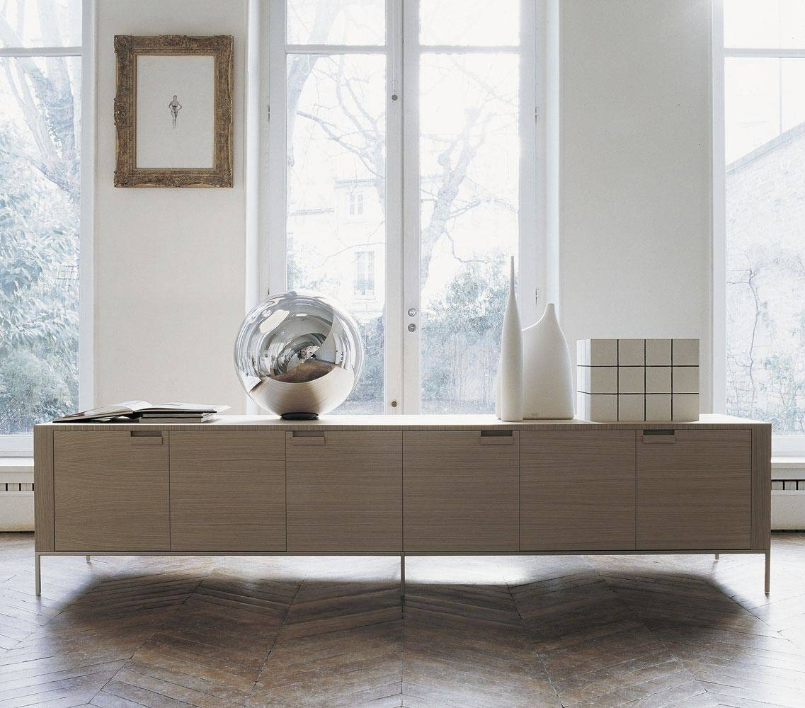 Furniture: Beautiful Profile Modern Sideboard For Living Room For Contemporary Sideboards (View 4 of 20)