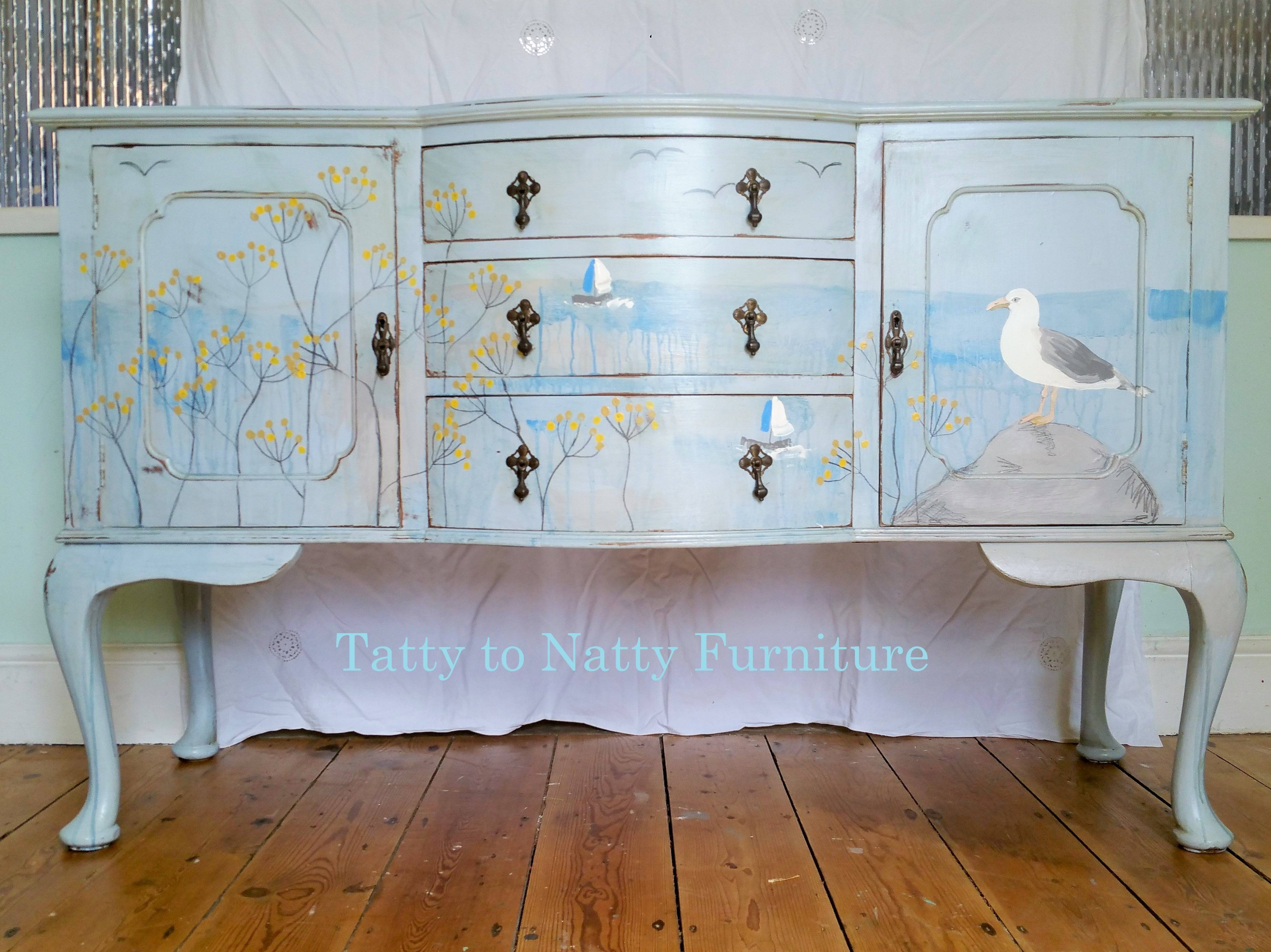 Furniture: Contemporary Version Of Distressed Sideboard Buffet Inside Cheap White Sideboard (#4 of 20)