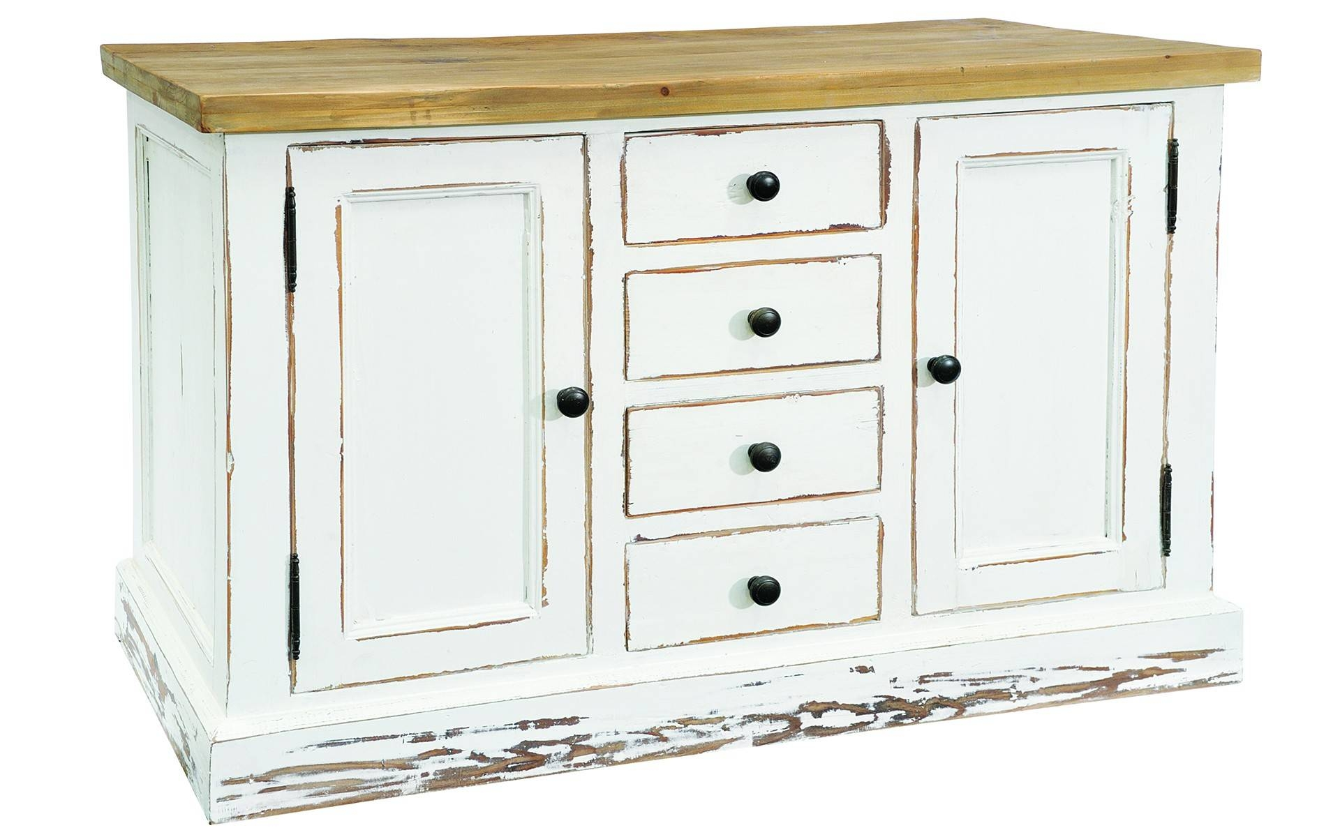 Furniture: Contemporary Version Of Distressed Sideboard Buffet Intended For Distressed Sideboard (#4 of 20)