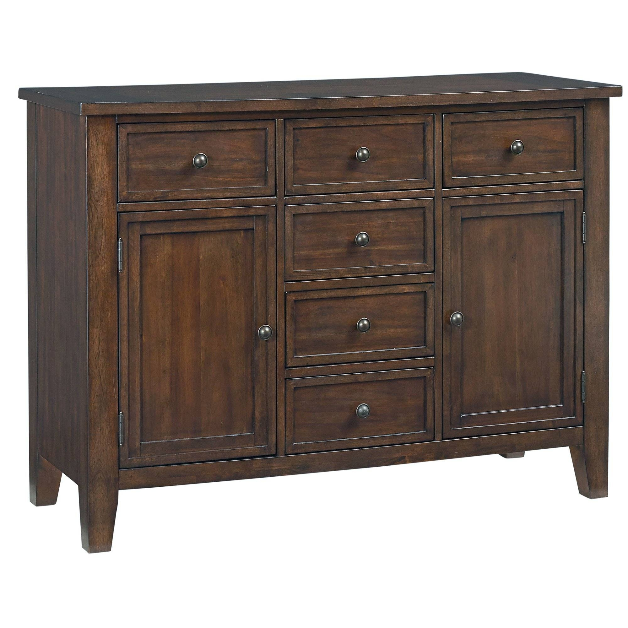 Furniture: Contemporary Version Of Distressed Sideboard Buffet Intended For Distressed Wood Sideboard (View 20 of 20)