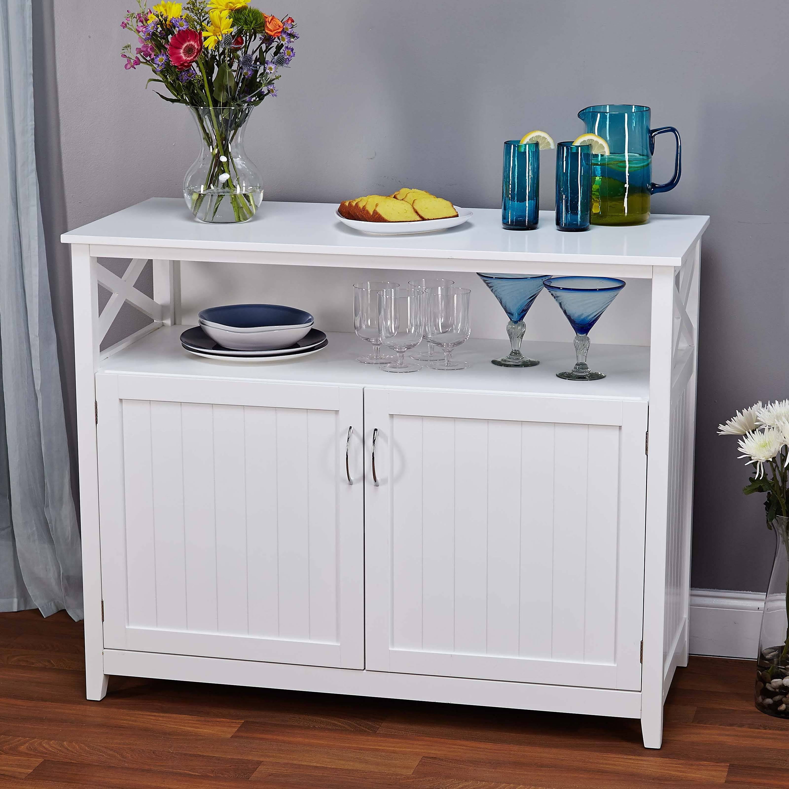 Furniture: Interesting Buffets And Sideboards For Home Furniture For Narrow Sideboards (#5 of 20)