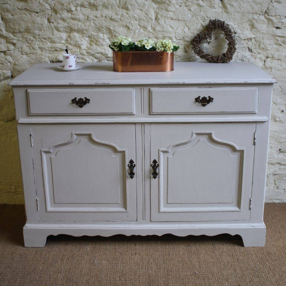 Photo of unfinished sideboard