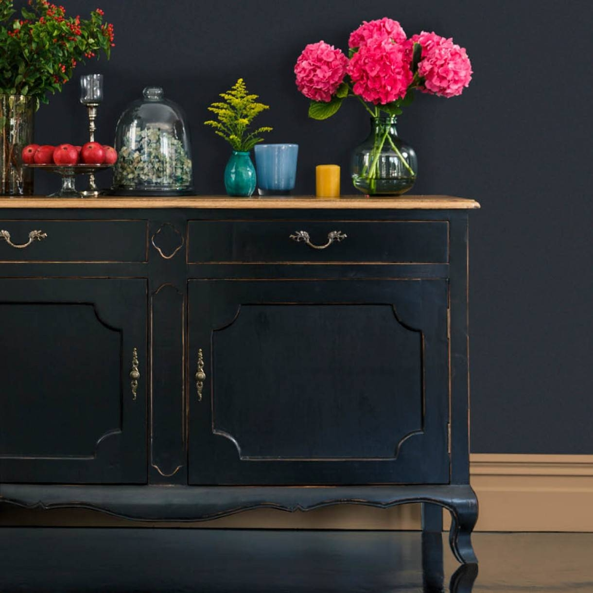 Furniture: Kitchen Hutch Buffet | Distressed Sideboard With Unfinished Sideboards (#11 of 20)