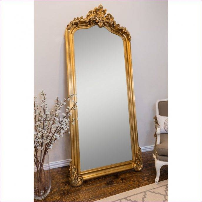 Furniture : Large Leaning Floor Mirror Small Mirror Long Stand Up Within Antique Long Mirrors (View 19 of 20)