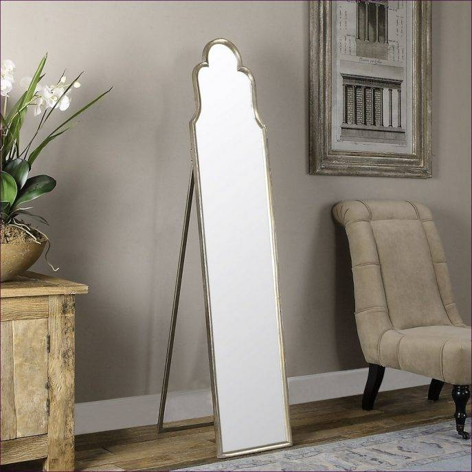 Furniture : Large Mirror On Wall Carved Floor Mirror Bathroom Intended For Frameless Arched Mirrors (#17 of 20)