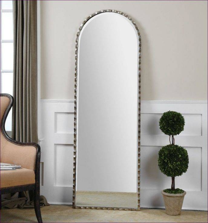 Furniture : Large Stand Alone Mirror Big Silver Wall Mirrors Black With Regard To Black Floor Standing Mirrors (#25 of 30)