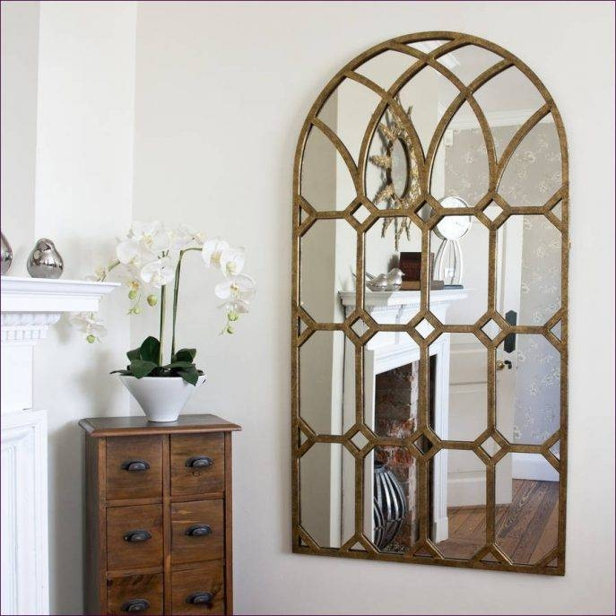 Furniture : Long Dressing Mirror Arched Window Mirror Large Tall Intended For Large Standing Mirrors (#13 of 30)